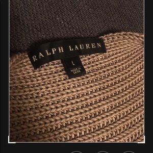 Ralph Lauren black label silk poncho